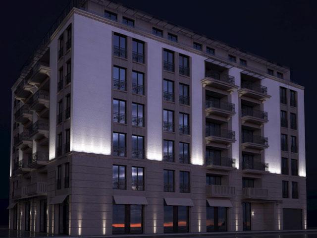 Merin Residential building, Serbia